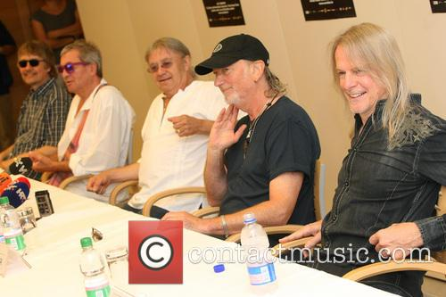 Don Airey, Ian Paice, Roger Glover, Steve Morse and Deep Purple 11