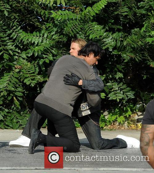 Charlie Hunnam and Jimmy Smits 13
