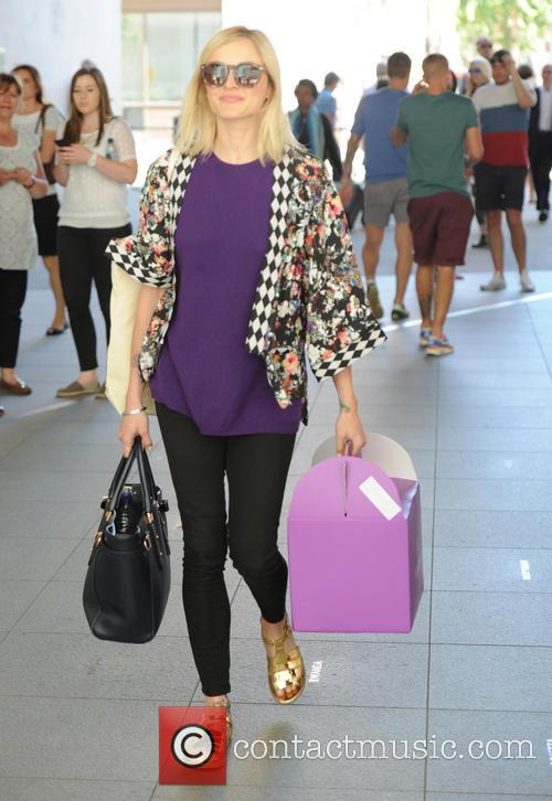 Fearne Cotton at BBC Studios