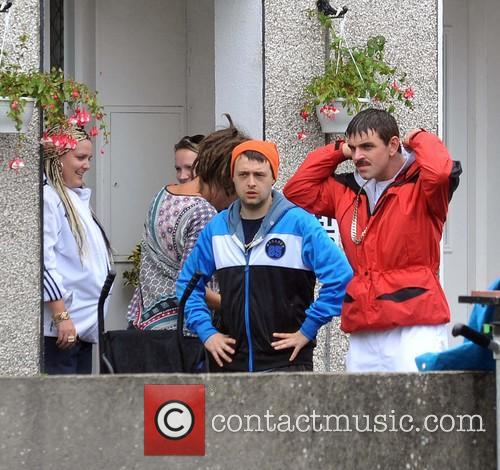 Filming of RTE's comedy series 'Damo and Ivor'