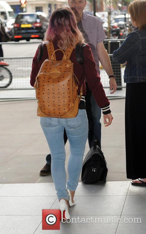 Lily Allen arrives at Radio 1