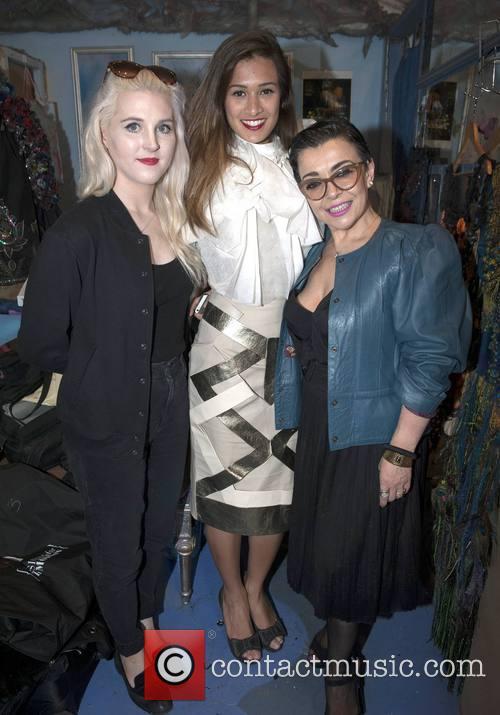 Maria Lola Roche, Isadora Tezolin De Oliveira and Maria Fusco