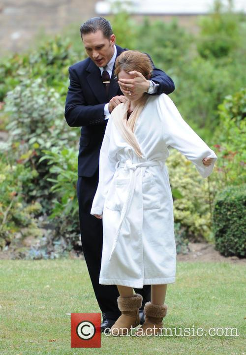 Tom Hardy and Emily Browning 7