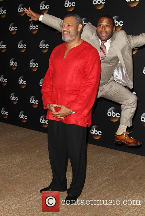 Laurence Fishburne and Anthony Anderson 9