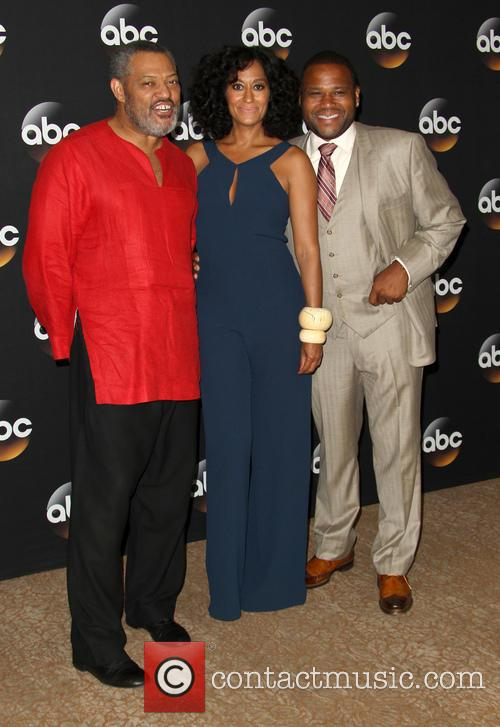 Laurence Fishburne, Tracee Ellis Ross and Anthony Anderson 8