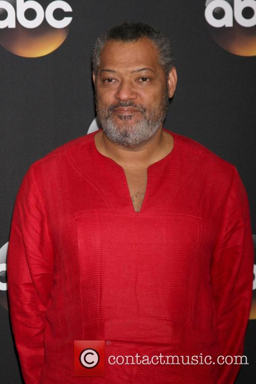 Laurence Fishburne, Beverly Hilton Hotel, Disney, ABC