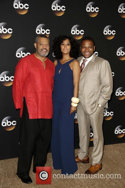 Laurence Fishburne, Tracee Ellis Ross and Anthony Anderson 11