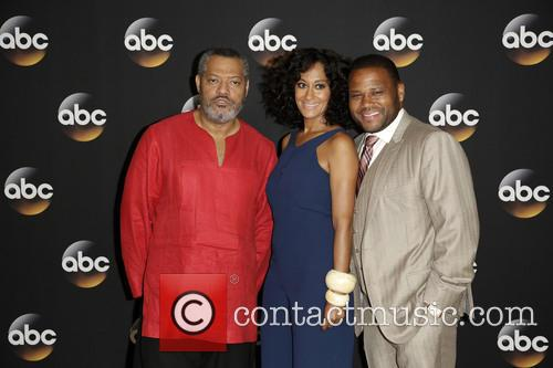 Laurence Fishburne, Tracee Ellis Ross and Anthony Anderson 4