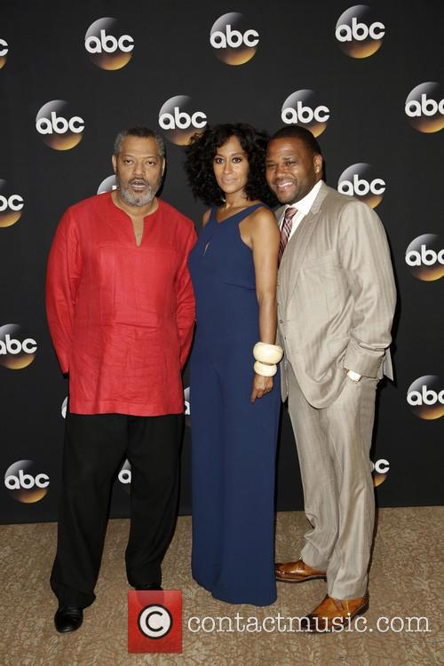Laurence Fishburne, Tracee Ellis Ross and Anthony Anderson 5