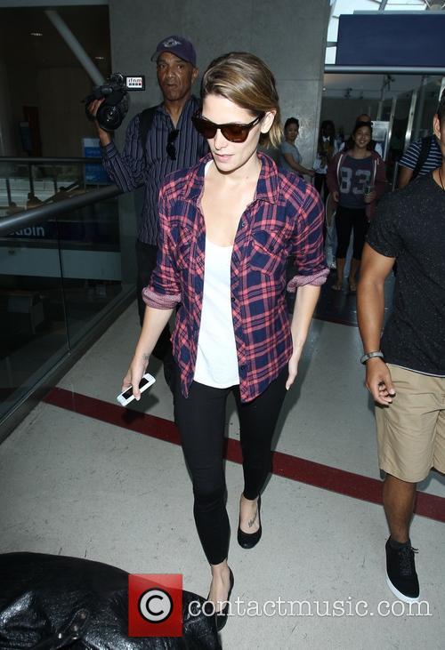 Ashley Greene at LAX