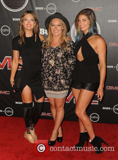 Amy Purdy, Jamie Anderson and Julia Ma 5