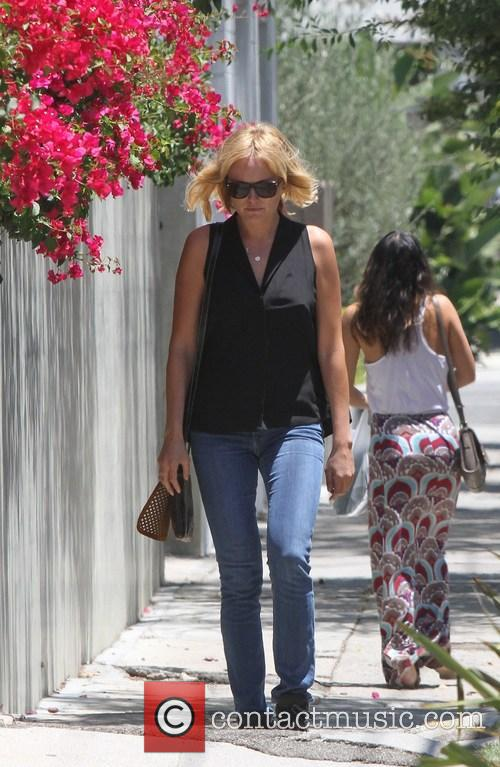 Malin Akerman goes out to lunch with a...