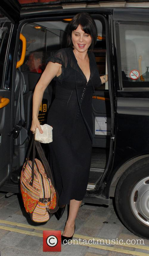 Celebrities arriving at Chiltern Firehouse