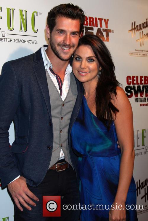 Nadia Bjorlin and Grant Turnbull