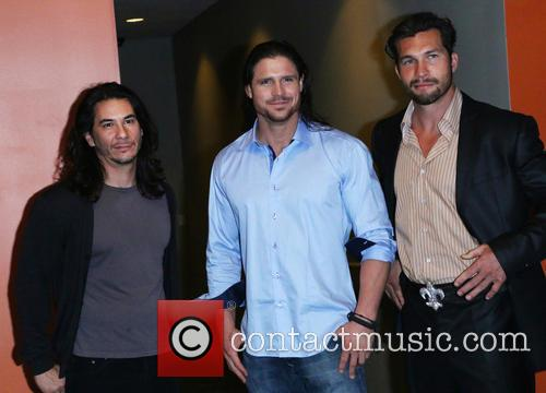 James Duval, John Hennigan and Marcus Shirock