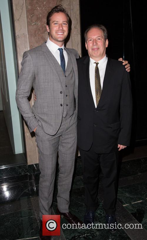 Armie Hammer and Hans Zimmer 3