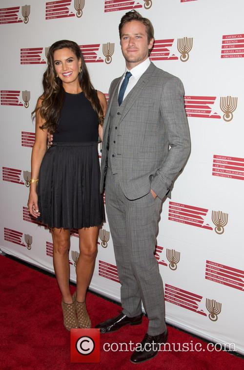 Elizabeth Chambers and Armie Hammer 1