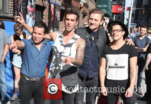 David Letterman, Dave Rublin, Zac Barnett, James Adam Shelley, Matt Sanchez and American  Authors 6