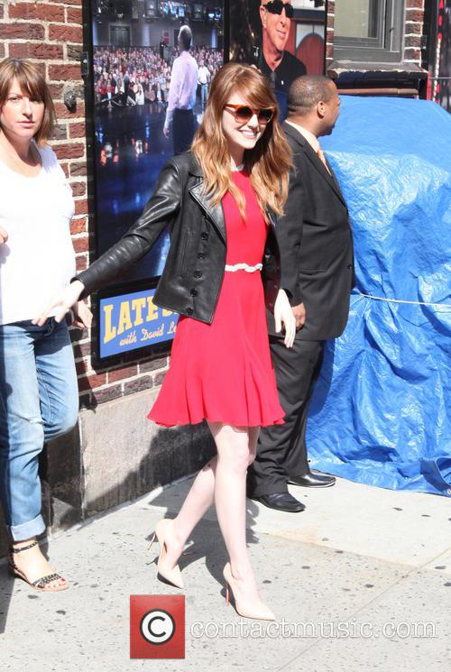 emma stone late show with david letterman 4289253