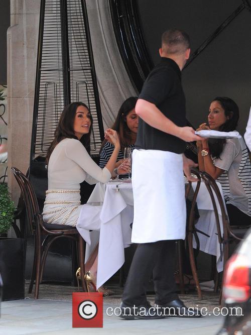 Tamara Ecclestone at Scott's Restaurant in Mayfair