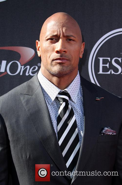 Dwayne Johnson, Nokia Theatre L.A. Live