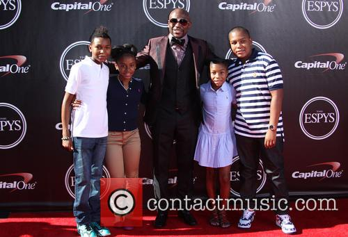 Floyd Mayweather Jr and Family 1