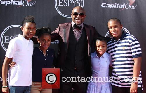 Floyd Mayweather Jr and Family 2