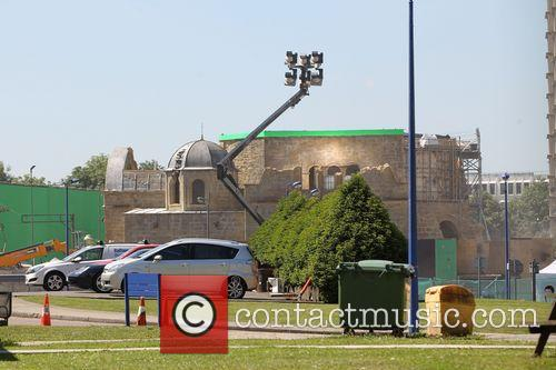 Avengers and Age Of Ultron Filmset 3