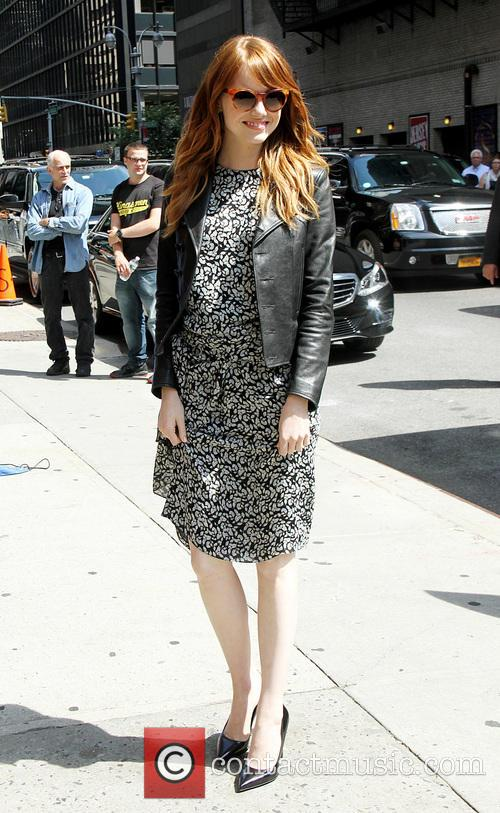 emma stone late show with david letterman 4289168