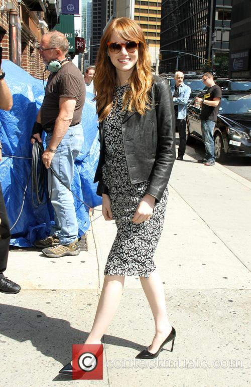 emma stone late show with david letterman 4289170