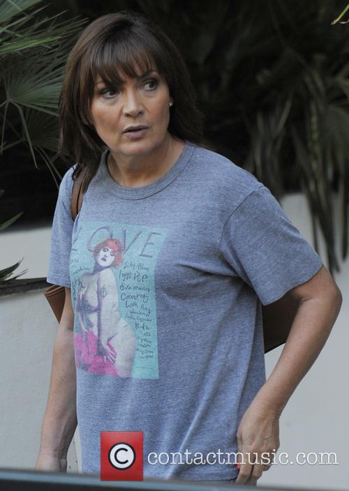 Lorraine Kelly leaving the ITV studios