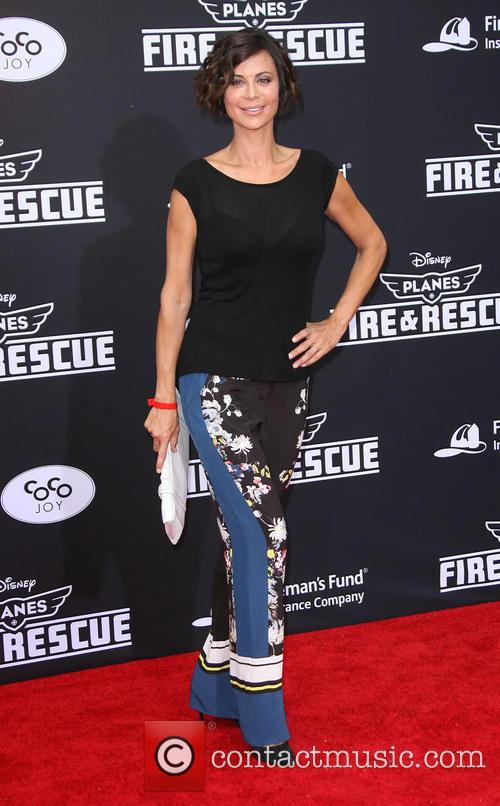 catherine bell disneys planes fire rescue la 4287711