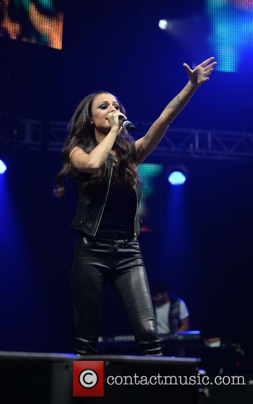 Cher Lloyd performs at Key 103 Summer Live at the Phones 4U Arena in Manchester