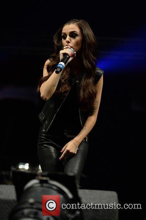 Cher Lloyd performs at Key 103 Summer Live...