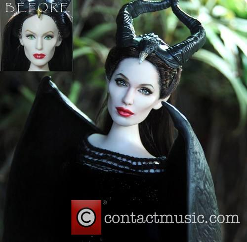 Angelina Jolie and Maleficent 8