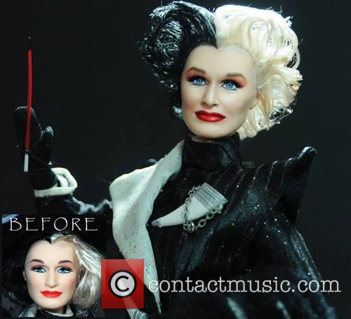 Glenn Close and Cruella De Vil 2