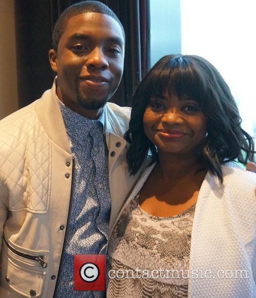 Chadwick Boseman and Octavia Spencer 2