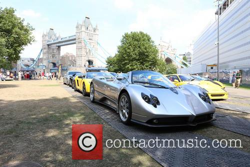 Need For Speed Supercar Convoy Photo Call