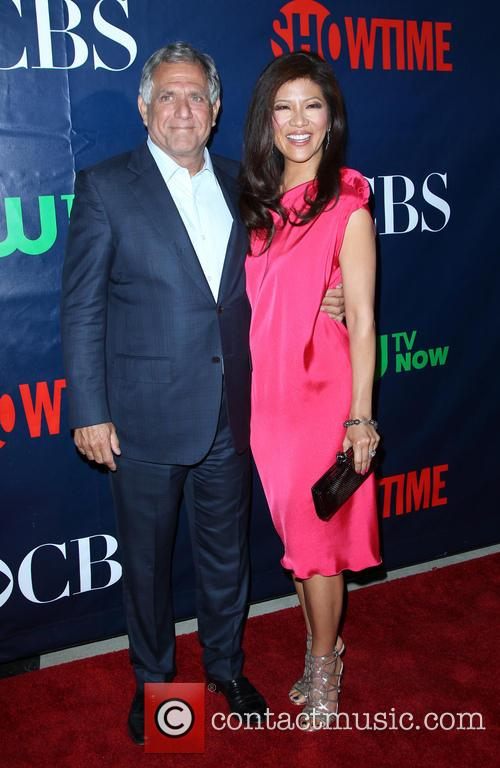 Leslie Moonves and Julie Chen 1