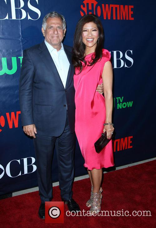 Leslie Moonves and Julie Chen 5