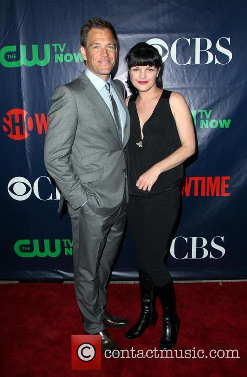 Michael Weatherly and Pauley Perrette 2