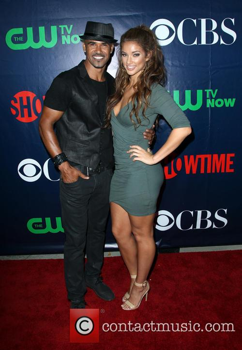 Shemar Moore and Girlfriend 2