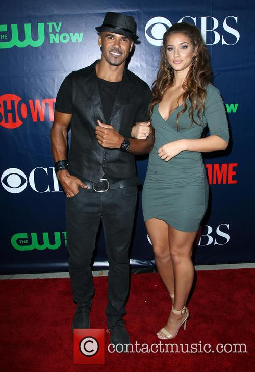 Shemar Moore and Girlfriend 3