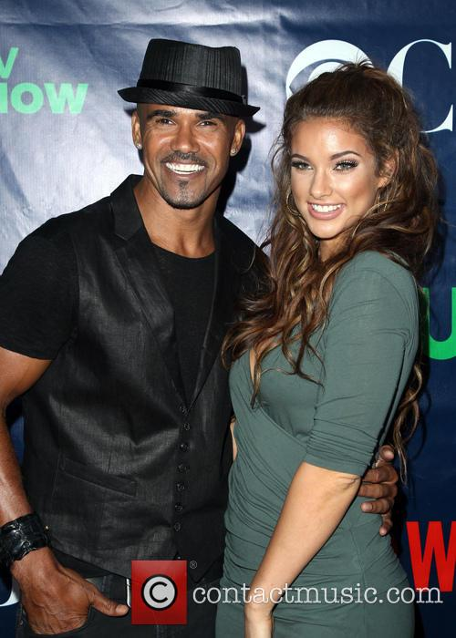 Shemar Moore and Girlfriend 4