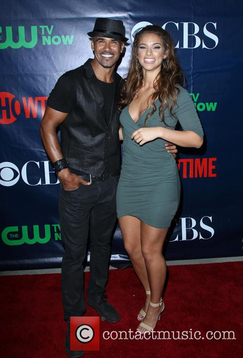 Shemar Moore and Girlfriend 5