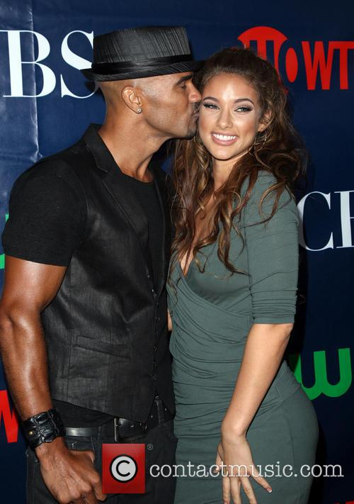 Shemar Moore and Girlfriend 1