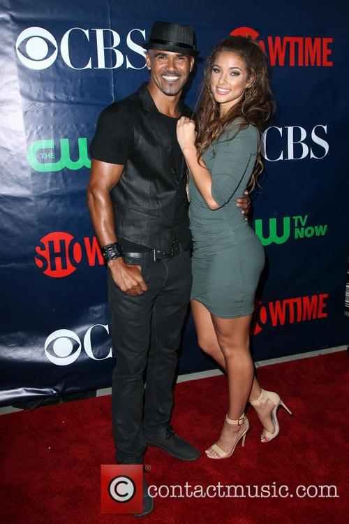 Shemar Moore and Girlfriend 6