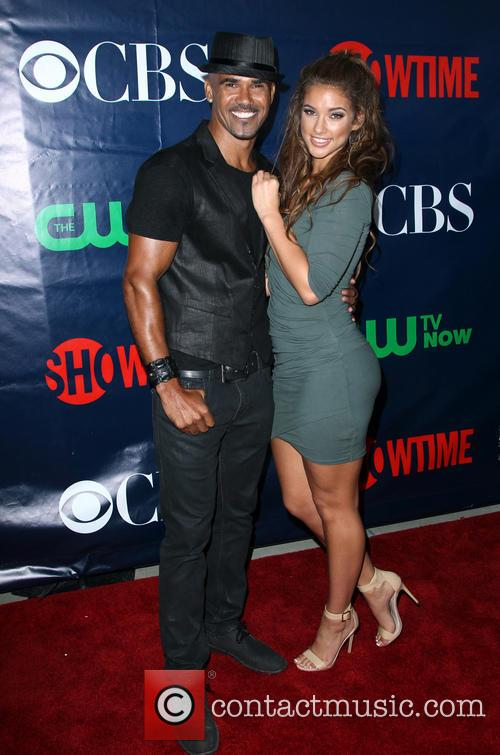 Shemar Moore and Girlfriend 7