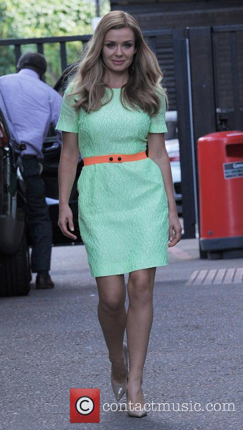 katherine jenkins celebrities outside the itv studios 4289622