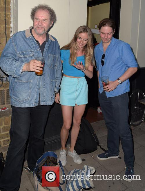 Cressida Bonas, Mike Figgis and Daniel Bruhl